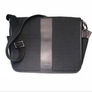 Coach Signature Messenger Briefcase Bag, Unisex